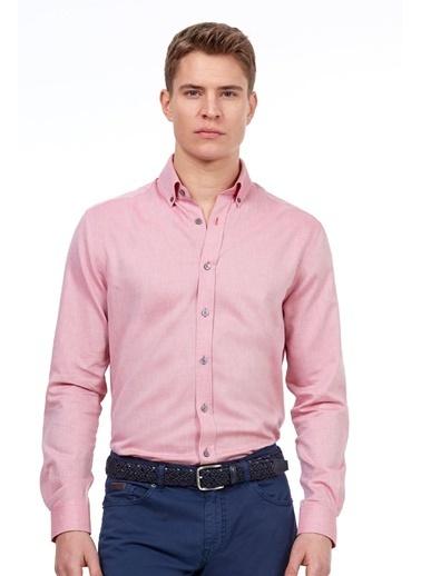 Hemington Uzun Kollu Gömlek Pembe